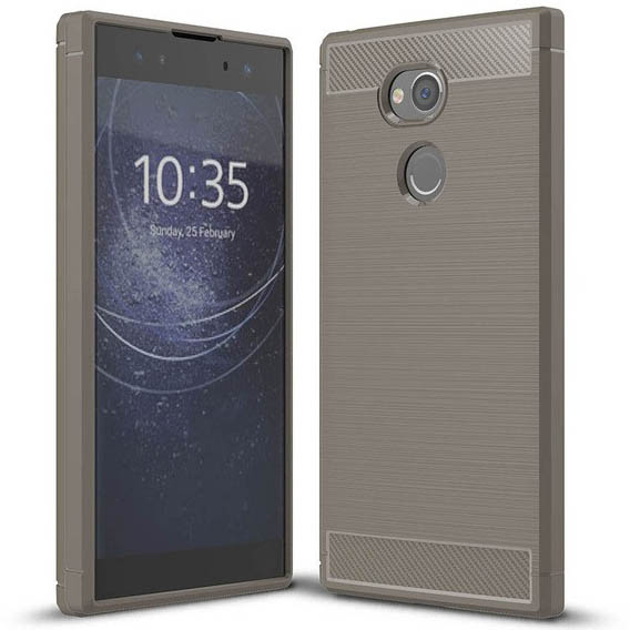 TPU чехол iPaky Slim Series для Sony Xperia XA2 (Серый)