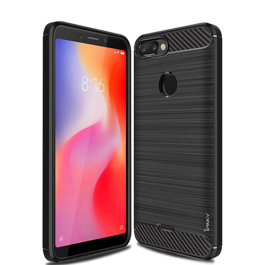TPU чехол iPaky Slim Series для Xiaomi Redmi 6 (Черный)