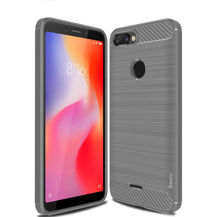 TPU чехол iPaky Slim Series для Xiaomi Redmi 6 (Серый)