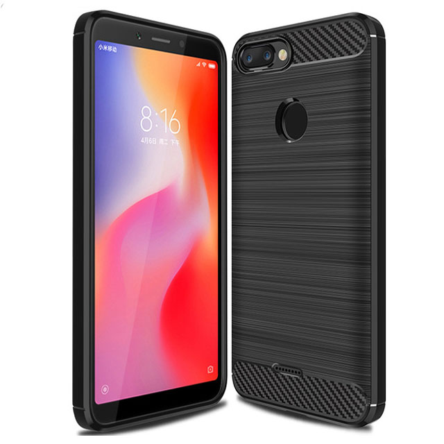 TPU чехол iPaky Slim Series для Xiaomi Redmi 6A (Черный)