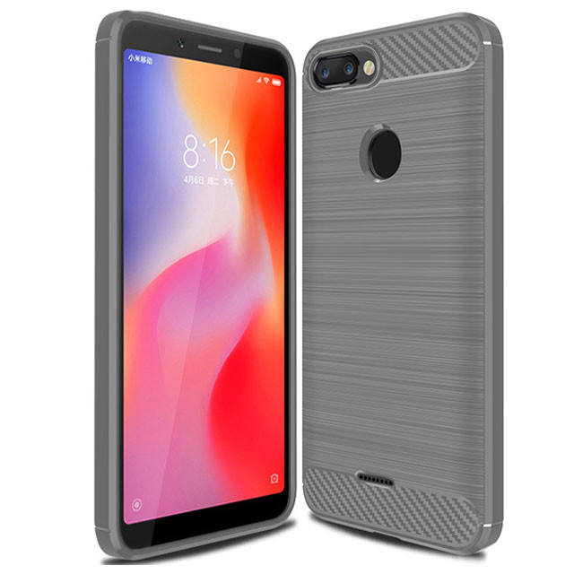 TPU чехол iPaky Slim Series для Xiaomi Redmi 6A (Серый)