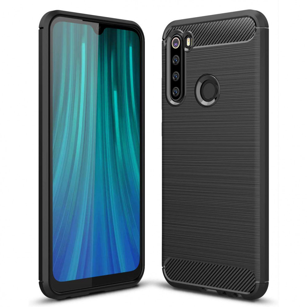 TPU чехол iPaky Slim Series для Xiaomi Redmi Note 8 (Черный)