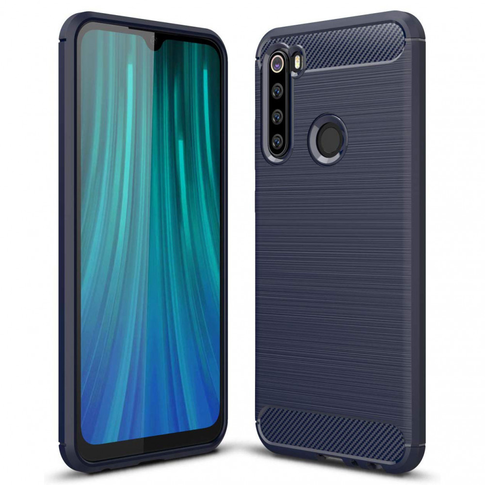 TPU чехол iPaky Slim Series для Xiaomi Redmi Note 8 (Синий)