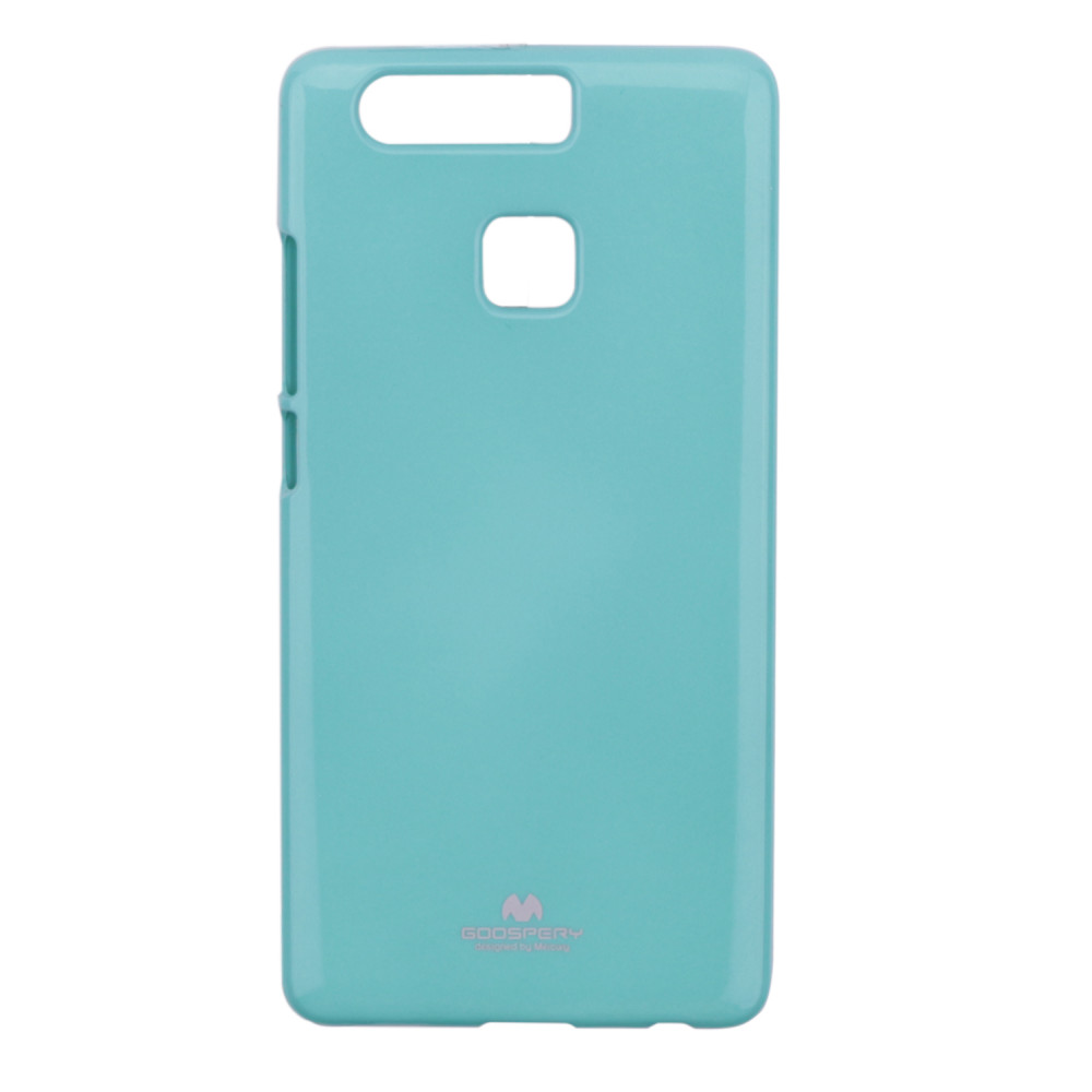TPU чехол Mercury Jelly Color series для Huawei P9 (Бирюзовый)