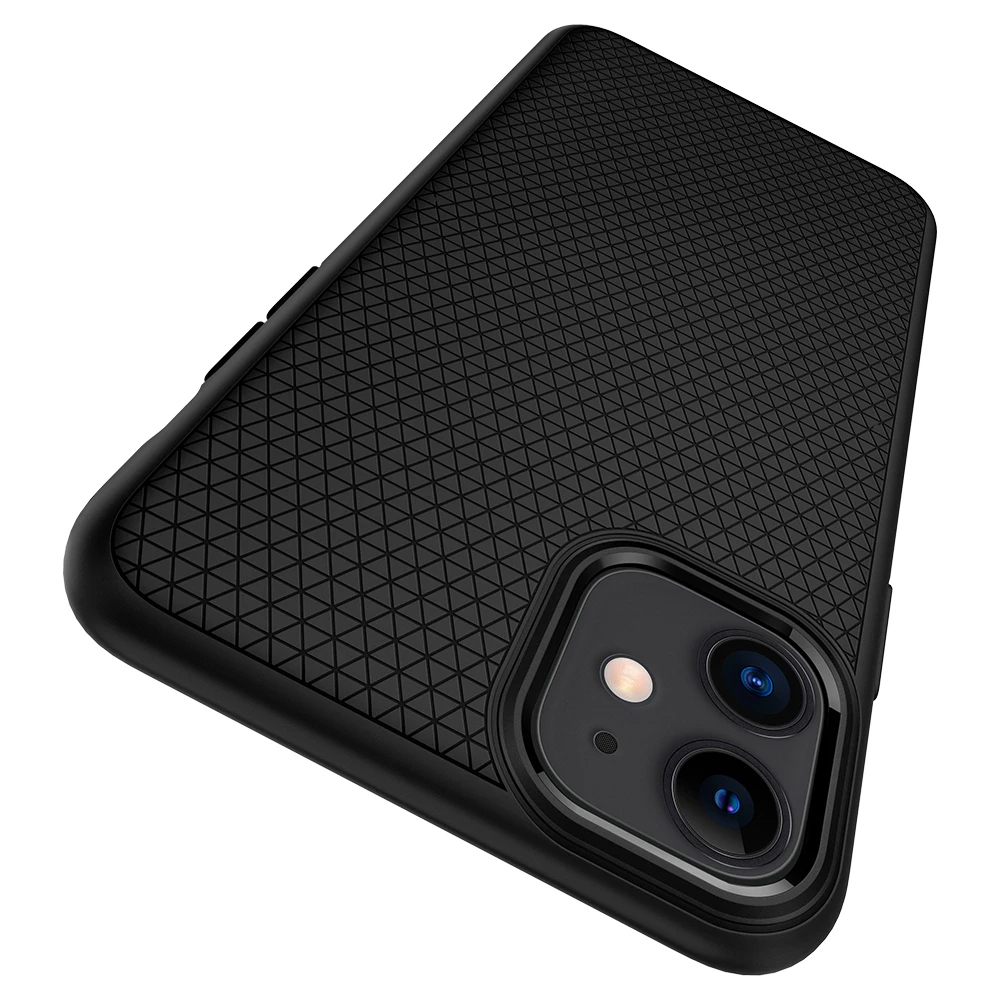 Фото TPU чехол Spigen Liquid Air Matte для Apple iPhone 11 (6.1