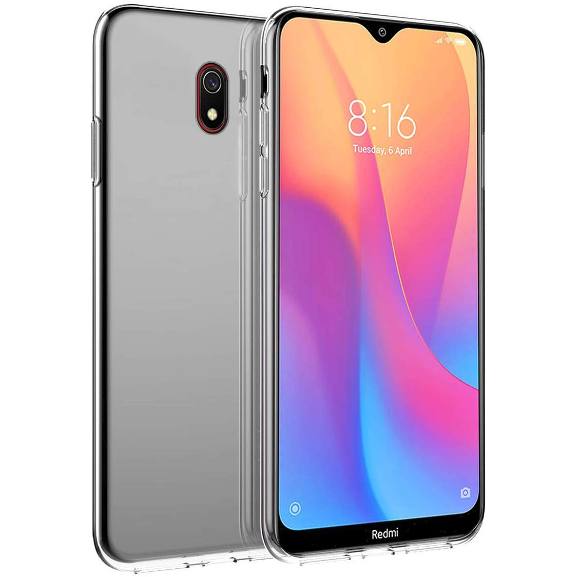 TPU чехол Ultrathin Series 0,33mm для Xiaomi Redmi 8a