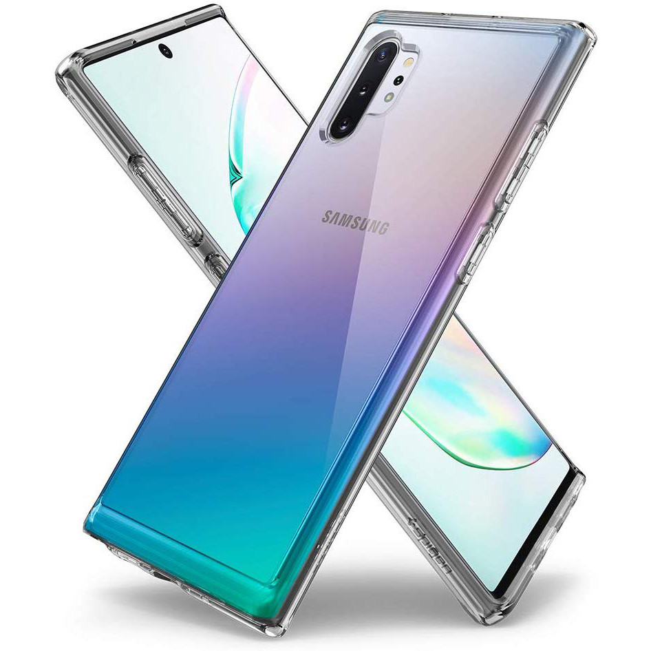 TPU чехол X-Level Anti-Slip series для Samsung Galaxy Note 10 Plus (Прозрачный)