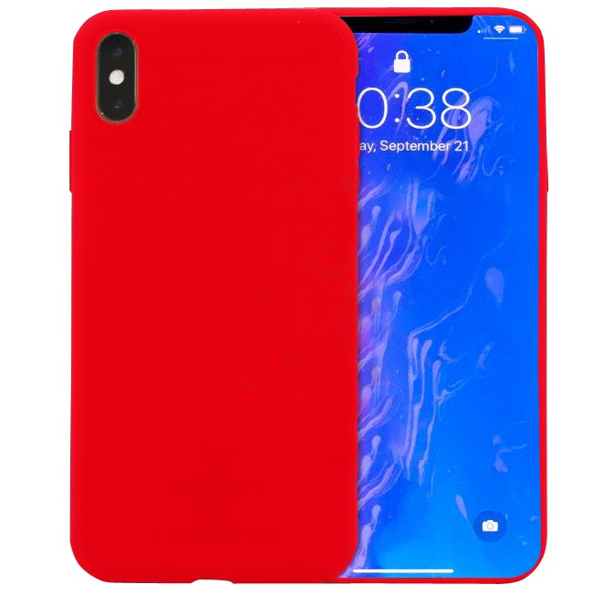 "TPU чехол X-Level Fancy series для Apple iPhone X (5.8"") / XS (5.8"") (Красный)"