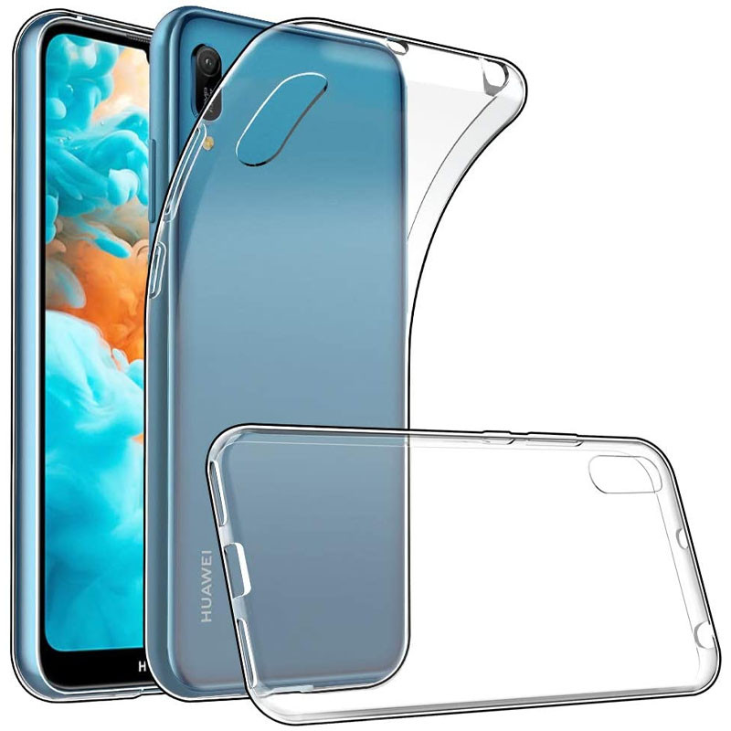 TPU чехол Epic Transparent 1,0mm для Huawei Y6 Pro (2019)