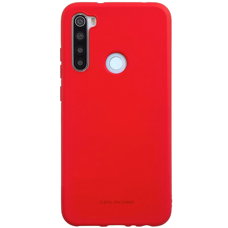 TPU чехол Molan Cano Smooth для Xiaomi Redmi Note 8 (Красный)