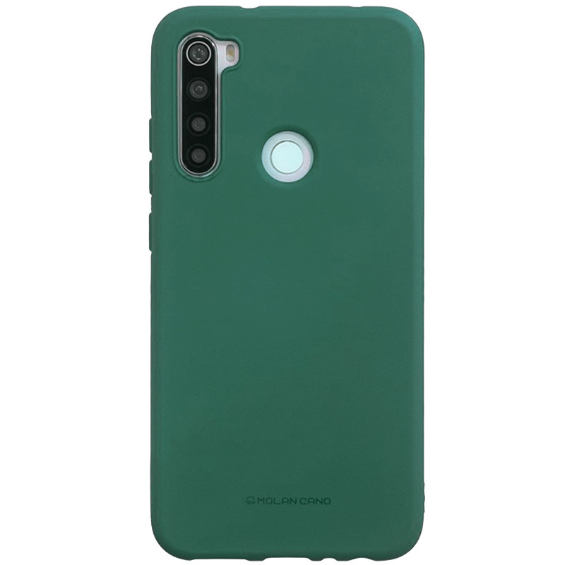 TPU чехол Molan Cano Smooth для Xiaomi Redmi Note 8 (Зеленый)