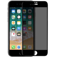 Защитное стекло Privacy 5D Matte (full glue) (тех.пак) для Apple iPhone 7 / 8 / SE (2020) (4.7