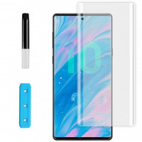 Защитное 3D стекло Nano Optics с УФ лампой для Samsung Galaxy Note 10 Plus