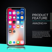 Защитное стекло Nillkin Anti-Explosion Glass (H+) (зак. края) для Apple iPhone X (5.8