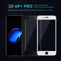 Защитное стекло Nillkin Edge Shatterproof Full Screen (3D AP+PRO) для Apple iPhone 7 / 8 / SE (2020)