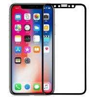 Защитное стекло Nillkin Edge Shatterproof Full Screen (3D AP+PRO) для Apple iPhone X (5.8