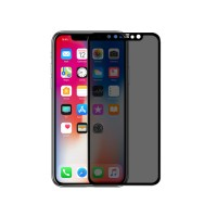 Защитное стекло Nillkin Privacy Glass Full Screen (3D AP+MAX) для Apple iPhone XS Max / 11 Pro Max