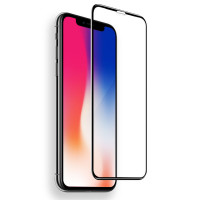 Защитное стекло ROCK Tempered (4D) Glass Soft Edge series для Apple iPhone X (5.8