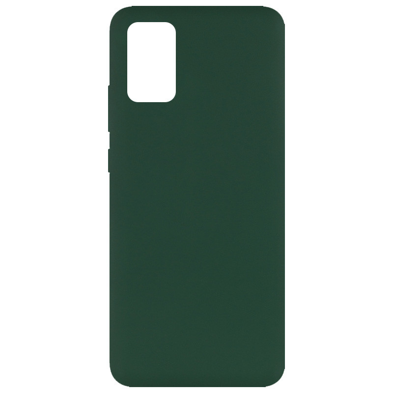 Чехол Silicone Cover Full without Logo (A) для Samsung Galaxy A02s