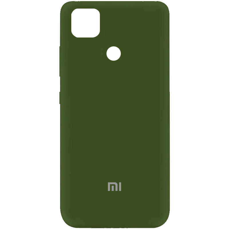 Фото Чехол Silicone Cover My Color Full Protective (A) для Xiaomi Mi 10T / Mi 10T Pro Зеленый / Forest green на onecase.com.ua