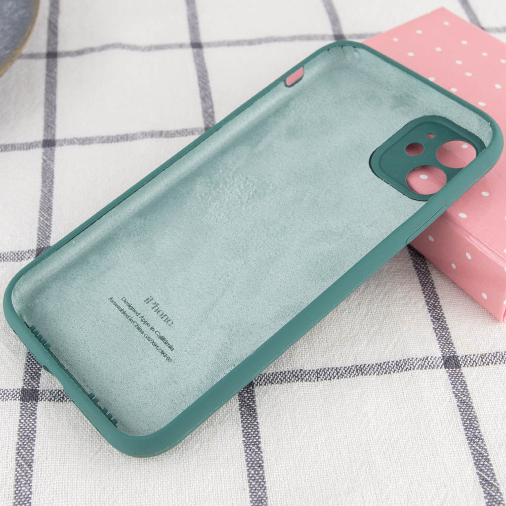 Фото Чехол Silicone Case Full Camera Protective (AA) для Apple iPhone 12 mini (5.4