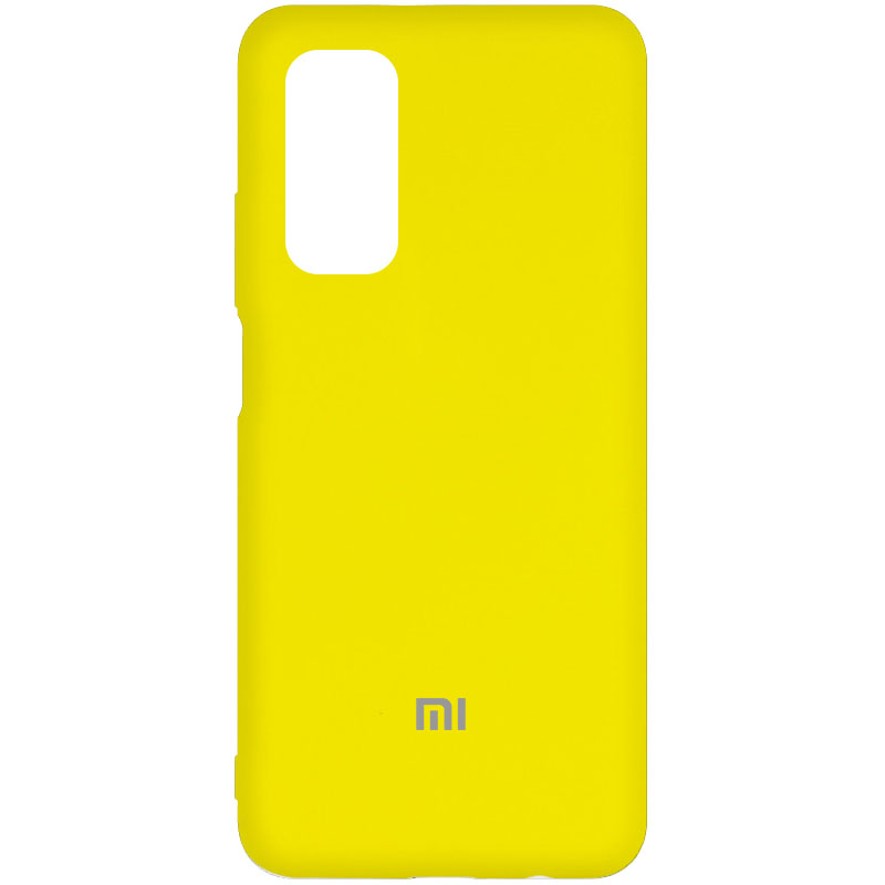 Чехол Silicone Cover My Color Full Protective (A) для Xiaomi Mi 10T Pro (Желтый / Flash)